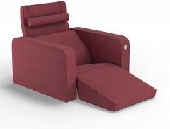 Мягкое кресло Kulik System PLEASURE Коралловый (PLEASURE_6115_MF_MC_0514)