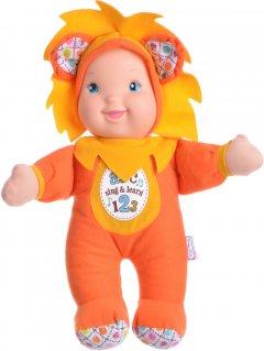 Кукла Baby's First Sing and Learn Пой и Учись Оранжевый Львенок 30 см (21180-2)