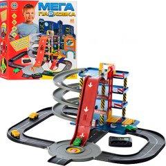 Игровой набор Гараж Bambi Мега парковка 4 этажа (922-7) (122101)