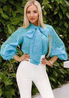 Блузка G&M k-63801 42-44 Размер цвет ментоловый