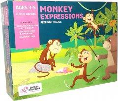 Настольная игра для детей Chalk & Chuckles Monkey Expressions (CCPPL001) (8906045560016)
