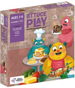 Настольная игра для детей Chalk & Chuckles Lettuce Play (CCPPL018) (8906045560184)