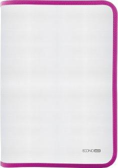 Папка-пенал пластиковая Economix на молнии А4 Розовый (E31644-09)