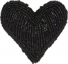 Елочная игрушка Christmas Decoration Vertical beads 8.5x3.5 см Black (A04427800_vertical_beads)
