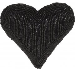 Елочная игрушка Christmas Decoration Vertical beads 13.5x13x5 см Black (A04427810_vertical_beads)