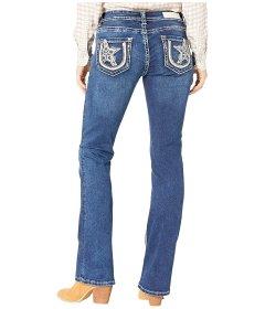 Джинси Rock and Roll Cowgirl Mid-Rise in Medium Wash W1-3430 Medium Wash, 30W 32L (10805364)