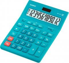 Калькулятор Casio 12 разрядный 155х209х34.5 Голубой (GR-12C-LB-W-EP)