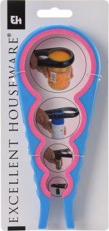 Открывалка универсальная Excellent Houseware 23 x 9 x 1.2 см (CY5651770_blue_pink)