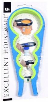 Открывалка универсальная Excellent Houseware 23 x 9 x 1.2 см (CY5651770_blue_green)