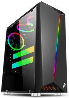 Корпус 1STPLAYER Rainbow R3-R1 (Color LED) Black