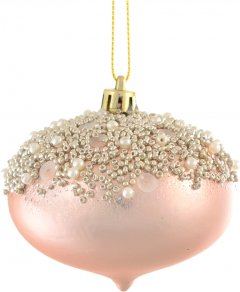 Елочный шар Новогодько (YES! Fun) Королевский 8 см Разноцветный (972990) (5056137141111)