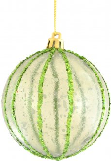 Елочный шар Новогодько (YES! Fun) Монард 8 см Разноцветный (973156) (5056137141876)