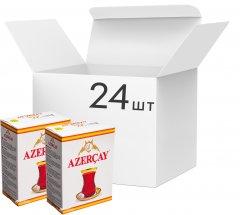 Упаковка черного среднелистового чая Azercay с ароматом бергамота 24 пачки по 100 г (54760062100308)