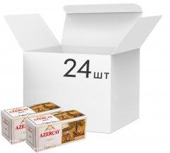 Упаковка черного пакетированного чая Azercay Buket 24 пачки по 25 пакетиков (24760062101809)