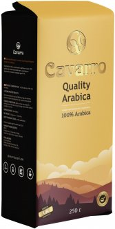 Кофе молотый Cavarro Quality Arabica 250 г (4820235750091)