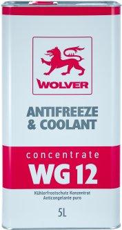 Антифриз концентрат Wolver Antifreeze&Coolant Concentrate WG12 5 л Красный (4260360944185)