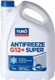 Антифриз Yuko -40 Super G12+ 5 л Красный (4820070248227)