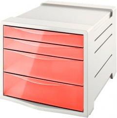 Шкафчик Esselte Colour'ice 4 ящика абрикосовый (626283)
