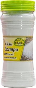 Соль экстра Dr. IgeL Йодированная выварочная 500 г (4820222990028_4820155170542)