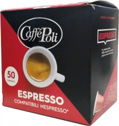 Кофе в капсулах Caffe Poli Espresso 5.2 г х 50 шт (8019650003516)