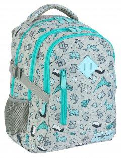 Рюкзак школьный Head 3 HD-239 38x28х17 24 л (502019024)