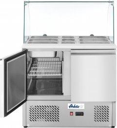 Холодильный стол-саладетта Hendi 232781
