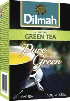 Чай Dilmah Зеленый Крупнолистовой 100 г (9312631124354)
