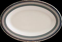 Блюдо овальное Astera Callisto Jacquard 30.5 см (А0510-TH5826D)