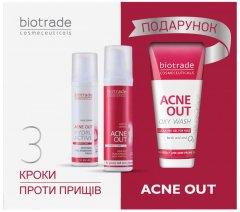 Набор Biotrade Acne Out 3 в 1 для жирной и проблемной кожи и кожи с акне 60 мл + 60 мл + 50 мл (3800221841904)