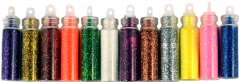 Набор песка для дизайна ногтей Avenir Cosmetics 12 шт (2009610009142)