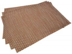 Набор сервировочных ковриков Fissman 45х30 см 4 шт (0647)