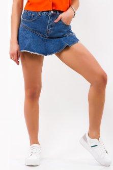 Юбка-шорты джинсовые Remix 622 XL Синие (2950006410212)
