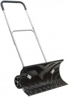 Ковш для уборки снега на колесах Intertool 66 x 32 см с ручкой 108 см (FT-2095)
