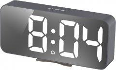 Настольные часы Bresser MyTime Echo FXL Grey (8010072QT5WHI)
