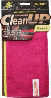 Комплект салфеток из микрофибры универсальных CleanUP 30x30см CU-102 3 шт в уп. 4 комплекта (km79803)