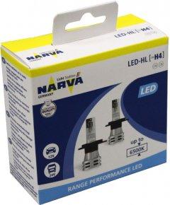 Автолампы Narva 12V/24V 24W H4 LED New Range Performance 6500K 2 шт (NV 18032 RPNVA X2)