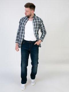 Чоловічі джинси LIVERGY 54 синій F01-230141