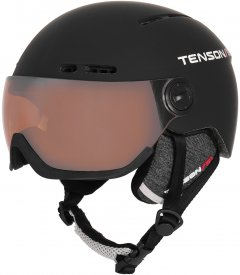 Шлем горнолыжный Tenson Nano Visor M Black (5013870-999-M)