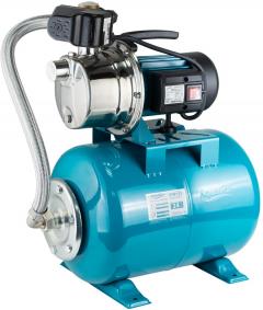 Насосная центробежная самовсасывающая станция Aquatica&Leo 0.6 кВт Hmax 35 м Qmax 50 л/мин нерж 24 л (775311/24)