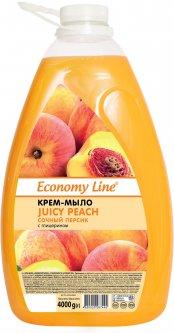 Крем-мыло Economy Line Сочный персик 4 кг (4820020267445)