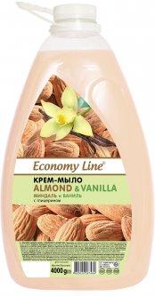 Крем-мыло Economy Line Миндаль и ваниль 4 кг (4820020267469)