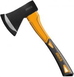 Топор INGCO фиберглассовая ручка 600 г (HAX0206008)