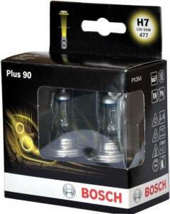Автолампа Bosch Plus 90 H7 2 шт (1 987 301 075)
