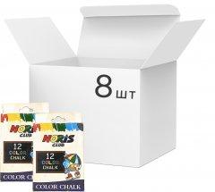 Упаковка цветных мелков SGL 8 пачек по 12 цветов (SUM180075) (3203566003097)