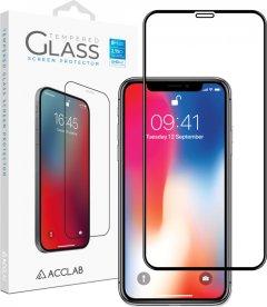 Защитное стекло ACCLAB Full Glue для Apple iPhone X/XS/11 Pro Black (1283126508189)