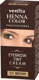 Краска-крем для бровей Venita Tint коричневая 15 г (5902101511704)