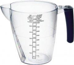 Мерная емкость Plast Team Прозрачный с резиновой черной ручкой 1 л (TEA-3012.2)