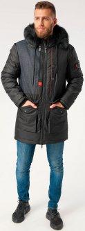 Куртка Riccardo Лонг 1 XXL (54) Черная (ROZ6205064709)