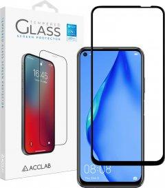 Защитное стекло ACCLAB Full Glue для Huawei P40 Lite Black (1283126508264)