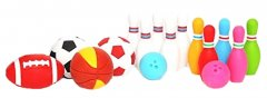Набор ластиков Iwako для карандаша Спорт 16 шт (ER-BRI028) (4991685120229)
